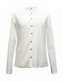 Camicia Label Under Construction Frayed Buttonholes colore bianc 29FMSH36-CO184-29-2 order online