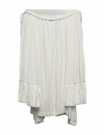 Gonna Miyao colore bianco MM-S-03-WHITE-SKIRT order online