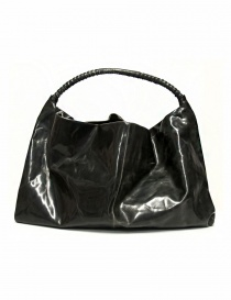 Delle Cose leather bag with lateral zip 722-BABYCALF-26 order online