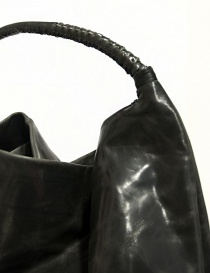 Delle Cose leather bag with lateral zip