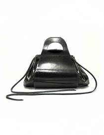 Delle Cose style 700 black leather bag 700-GROPPONE-BLK order online