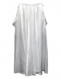 Womens skirts online: Miyao white long skirt