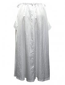 Miyao white long skirt