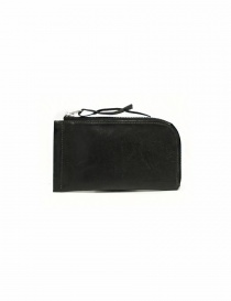 Delle Cose black leather zipped wallet online
