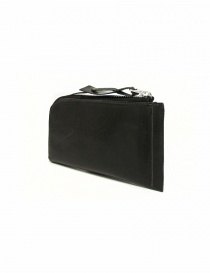 Delle Cose black leather zipped wallet