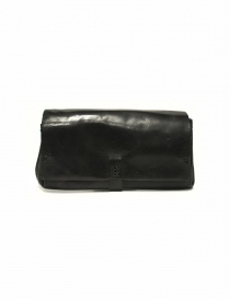 Delle Cose style 81 black leather wallet 81-HORSE-26 order online