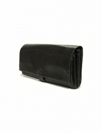 Delle Cose style 81 black leather wallet