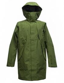Goldwin Hooded Spur Coat green jacket GO01700-GREEN order online