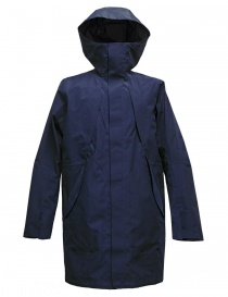 Giacca Goldwin Hooded Spur Coat colore navy GO01700-NAVY order online