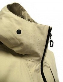 Goldwin Hooded Spur Coat beige short jacket