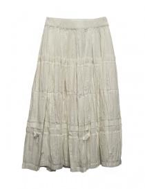 Sara Lanzi ivory white skirt