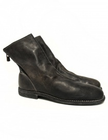 Guidi 986MS dark brown leather ankle boots