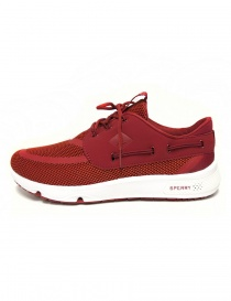 Sneakers Sperry Top-Sider 7 Seas colore rosso calzature-uomo
