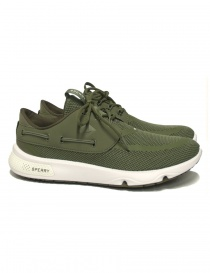 Sperry Top-Sider 7 Seas olive green sneakers STS15531-OLIVE order online