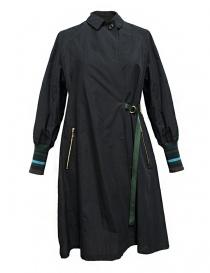 Kolor navy coat 17SPL-C02108-COAT-DAR