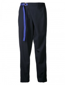 Kolor navy trousers with belt 17SCL-P08145-PANTS order online