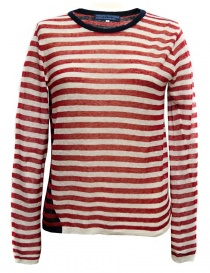 Womens knitwear online: Hiromi Tsuyoshi stripes pullover