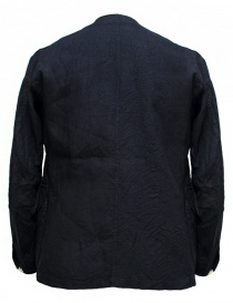 Haversack linen navy jacket