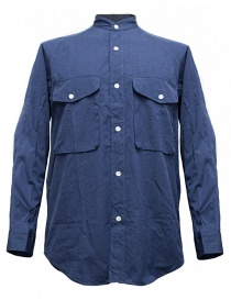 Camicia Haversack colore blu 821727-59-SHIRT order online