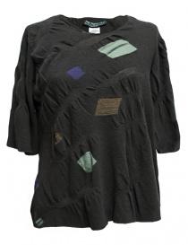 Womens knitwear online: M.&Kyoko grey pullover
