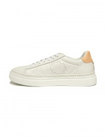 Be Positive Anniversary white and nude sneakers