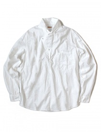 Kapital white asymmetrical shirt