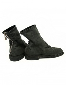 Guidi 986 Linen ankle boots