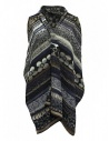 M.&Kyoko mixed silk vest buy online KAGH016W-VEST