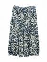 Sara Lanzi blue speckled skirt buy online 05GC004018P-ANIMBLU
