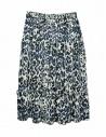 Sara Lanzi blue speckled skirt shop online womens skirts