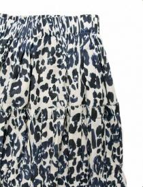 Sara Lanzi blue speckled skirt price