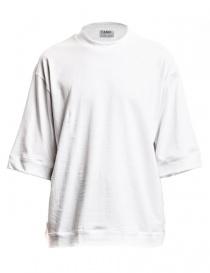 T-shirt wide Camo Bucefalo colore bianco BUCEFALO-220-WHI order online