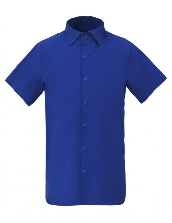 Allterrain by Descente Seamless Stretch azurite blue shirt