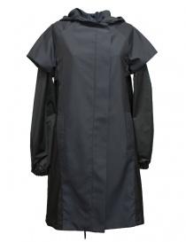 Womens jackets online: Re-Bello marine blue parka