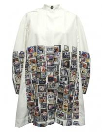 Womens jackets online: Re-Bello white parka