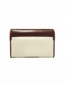 Beautiful People cream and brown leather wallet price