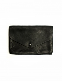 Guidi EN02 black leather wallet