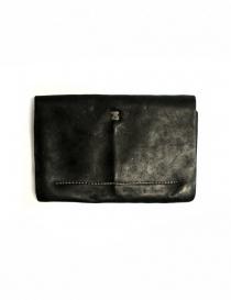 Guidi EN02 black leather wallet