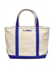 L.L. Bean blue finishing tote bag