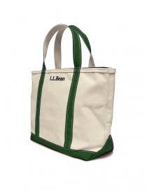 L.L. Bean green finishing tote bag