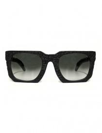 Occhiali online: Occhiale da sole Kuboraum Maske U3 nero opaco