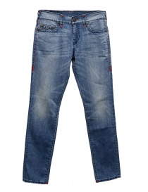 Mens jeans online: True Religion Geno light blue jeans