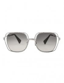 Occhiali online: Occhiale da sole Kuboraum Maske H14 colore metallo