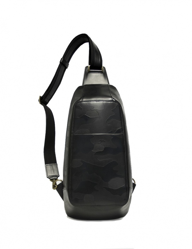 Ptah black camouflage backpack