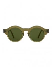 Occhiali online: Occhiale da sole Kuboraum Maske K9 colore verde