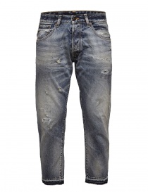Mens jeans online: Selected blue washed denim