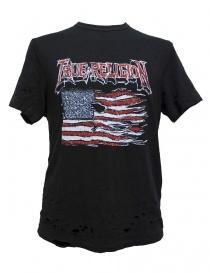 True Religion printed black t-shirt MSJAB8N071-1001 order online
