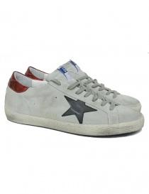 Calzature uomo online: Sneaker Golden Goose Superstar colore grigio