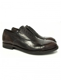 Shoto Figaro dark brown leather shoes 1133-FIGARO-DIVE-92 order online