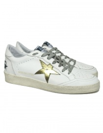Calzature uomo online: Sneaker Golden Goose Ballstar colore bianco